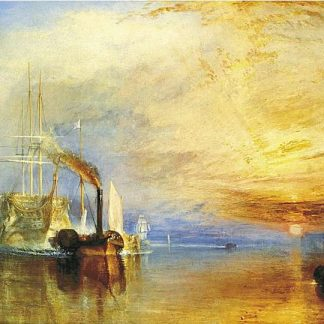 140 Pieces Wentwoth wooden puzzle - The Fighting Temraire by JMW Turner