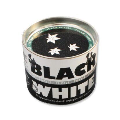 Soul Puzzles Black&White Acrylic Blatt 56 Pieces