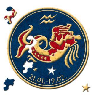 Aquarius Soul Puzzles Curiosi Stella Zodiac