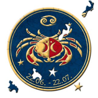 Cancer Soul Puzzles Curiosi Zodiac 46 pieces