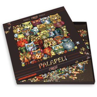 Soul Puzzles Curiosi Papeli Owls 210 pieces