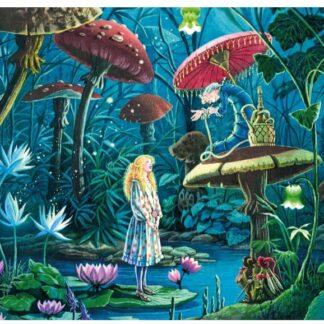Soul Puzzles | Puzzle Michèle Wilson | Wooden Handcut Puzzles 100 pieces | ALICE AU PAYS DES MERVEILLES | Alice in Wonderland