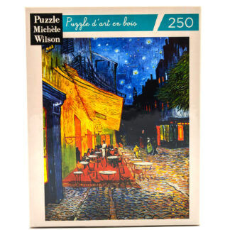 Soul Puzzles Michele Wilson imported from France Café by Night Van Gogh 250 Pieces