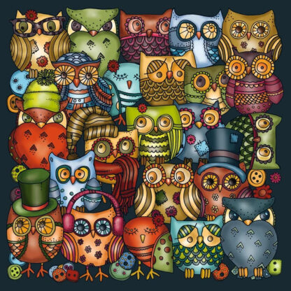 Soul Puzzles Curiosi Palapeli OWLS Eulen | adult jigsaw puzzles | South Africa