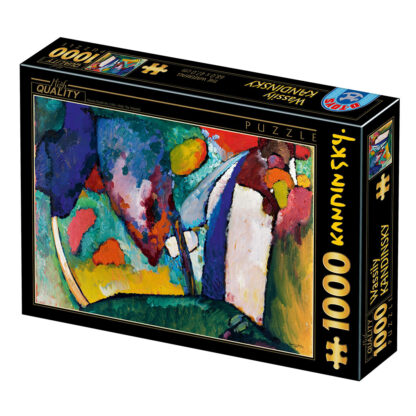 Soul Puzzles D Toys Cardboard Puzzles 1000 pieces Kandinsky - The Waterfall