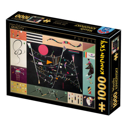 Soul Puzzles D Toys Cardboard Puzzles 1000 pieces | Kandinsky - The Whole