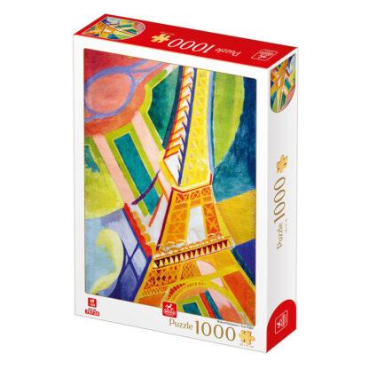 Soul Puzzles D Toys Cardboard Puzzles 1000 pieces Robert Delaunay - Tour Eiffel