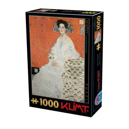 Soul Puzzles D Toys Cardboard Puzzles 1000 pieces | Klimt - Fritza Riedler