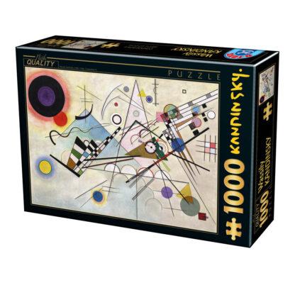 Soul Puzzles D Toys Cardboard Puzzles 1000 pieces andinsky - Composition 8