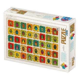 Soul Puzzles D Toys Cardboard Puzzles 1000 pieces