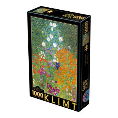 Soul Puzzles D Toys Cardboard Puzzles 1000 pieces | Klimt - Farm Garden