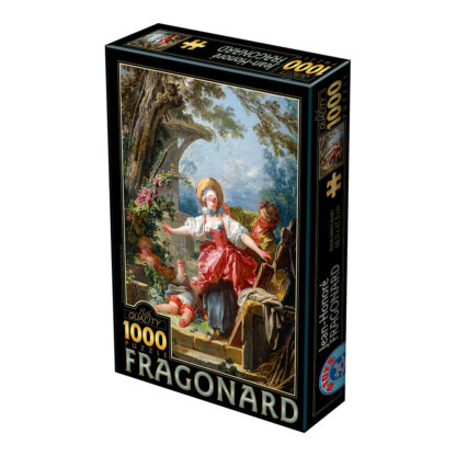 Soul Puzzles D Toys Cardboard Puzzles 1000 pieces Fragonard - Blind Man's Bluff