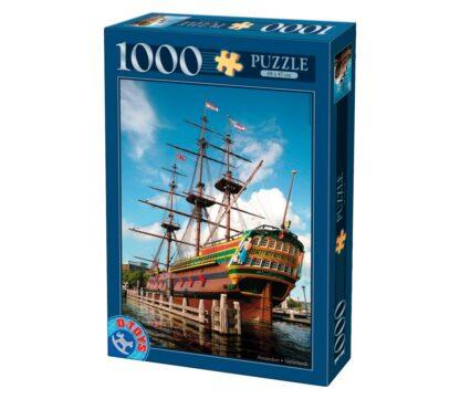 Soul Puzzles D Toys Cardboard Puzzles 1000 pieces | Famous Places - Amsterdam, Holland