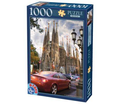 Soul Puzzles D Toys Cardboard Puzzles 1000 pieces | La Sagrada Familia, Barcelone, Espagne