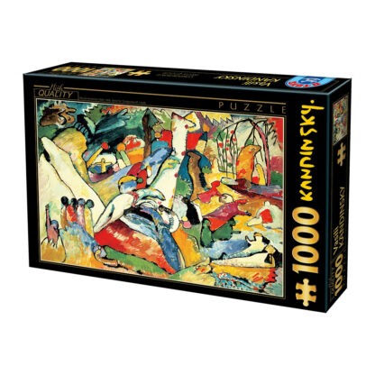 Soul Puzzles D Toys Cardboard Puzzles 1000 pieces - Kandinsky - Composition II