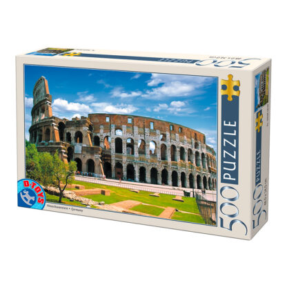 Soul Puzzles D Toys Cardboard Puzzles - 500 pieces   Italy-Rome : Colosseum