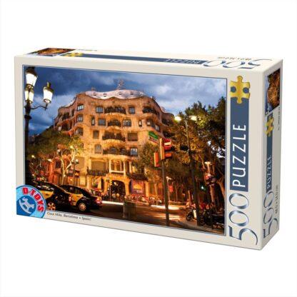 Soul Puzzles D Toys Cardboard Puzzles - 500 pieces | Spain - Barcelona : Casa Mila