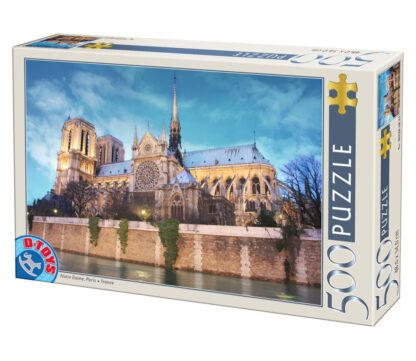 Soul Puzzles D Toys Cardboard Puzzles - 500 pieces | Paris-Cathédrale Notre Dame de Paris