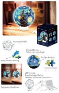 'Soul Puzzles Pintoo Puzzle Sphere Light
