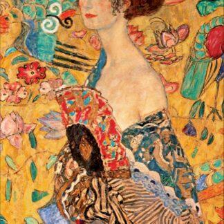 Soul Puzzles D Toys Cardboard Puzzles 1000 pieces | Klimt - Lady with a Fan
