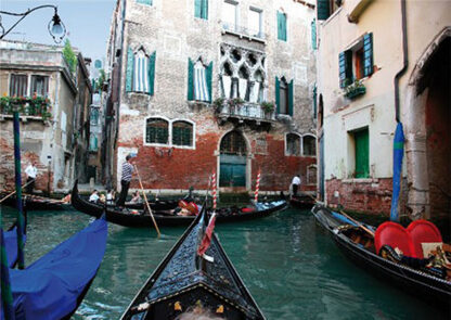 Soul Puzzles D Toys Cardboard Puzzles - 500 pieces | Canals of Venice, Italy