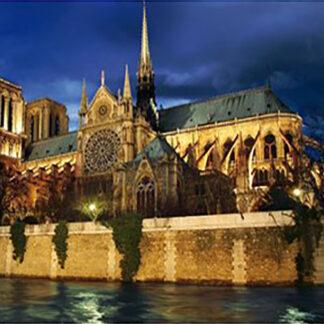 Soul Puzzles D Toys Cardboard Puzzles 1000 pieces | Night Landscapes - Cathédrale Notre Dame de Paris