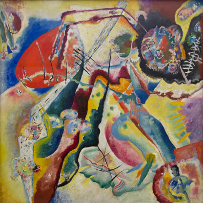 Soul Puzzles D Toys Cardboard Puzzles 1000 pieces   Kandinsky - Painting with Red Spot