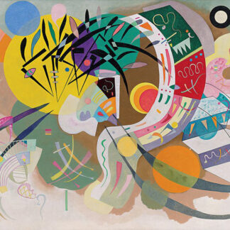 Soul Puzzles D Toys Cardboard Puzzles 1000 pieces | Kandinsky - Dominant Curve