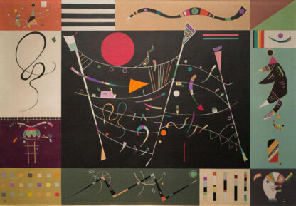 Soul Puzzles D Toys Cardboard Puzzles 1000 pieces   Kandinsky - The Whole