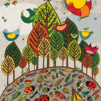Soul Puzzles D Toys Cardboard Puzzles 1000 pieces Nature - Birds and Bugs