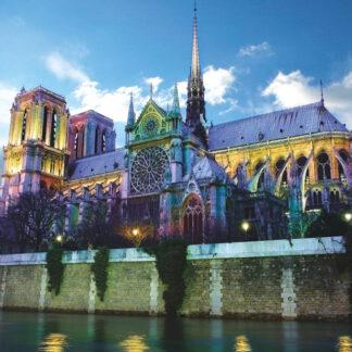 Soul Puzzles D Toys Cardboard Puzzles 1000 pieces | France - Notre Dame