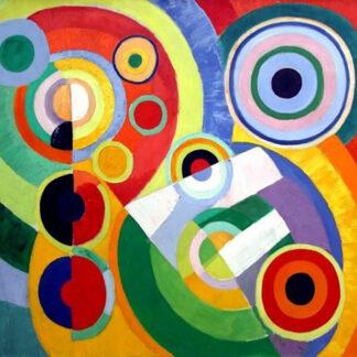 Soul Puzzles D Toys Cardboard Puzzles 1000 pieces | ROBERT DELAUNAY- RYTHME, JOIE DE VIVRE