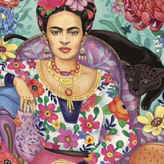 Soul Puzzles D Toys Cardboard Puzzles 1000 pieces   ZSELYKE GROOS ZSELYKE - Frida Khalo