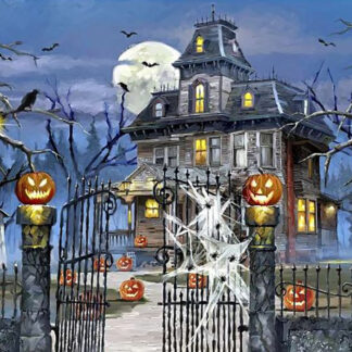 Haunted House Wentworth Wooden Puzzle 250 Pieces Halloween