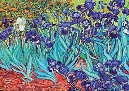 Van Gogh Soul Puzzles D Toys Cardboard Puzzles 1000 pieces Van Gogh Irises