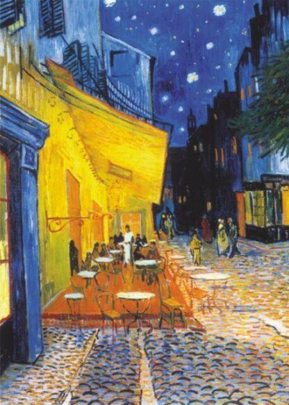 Van Gogh Soul Puzzles D Toys Cardboard Puzzles 1000 pieces Van Gogh cafe terrace