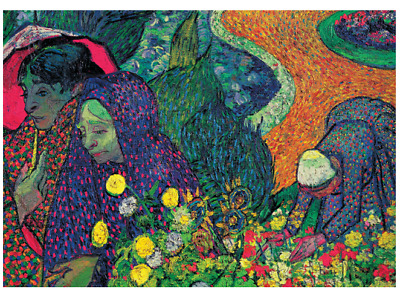 Van Gogh Soul Puzzles D Toys Cardboard Puzzles 1000 pieces memory of the garden at etten