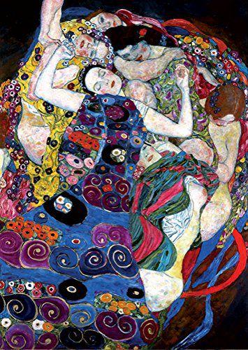 Klimt Soul Puzzles D Toys Cardboard Puzzles 1000 pieces