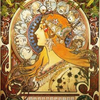 Mucha Soul Puzzles D Toys Cardboard Puzzles 1000 pieces mucha zodiac