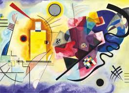 Kandinsky Soul Puzzles D Toys 1000 pieces 72849-KA03 kandinsky red yellow blue