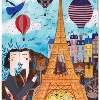 Kurti Soul Puzzles D Toys Cardboard Puzzles 1000 pieces Kurti cities Paris
