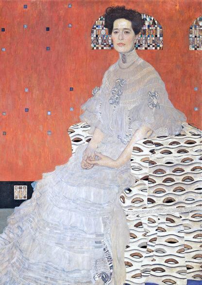 Soul Puzzles D Toys Cardboard Puzzles 1000 pieces   Klimt - Fritza Riedler