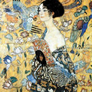 Soul Puzzles | Puzzle Michèle Wilson | Wooden Handcut Puzzles 100 pieces | La Dame Eventail