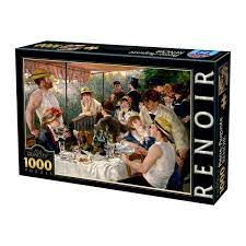 1000 pieces | Adult jigsaw puzzle | Soul Puzzles | South Africa | Cardboard | Imported from Europe | luncheon renoir | 66909RE09