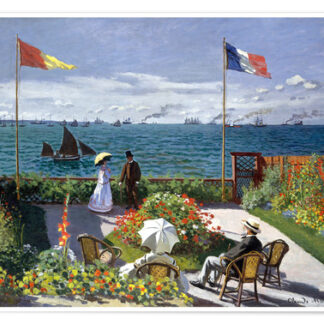 1000 pieces | Adult jigsaw puzzle | Soul Puzzles | South Africa | Cardboard | Imported from Europe Claude Monet-Garden at Sainte-Adresse