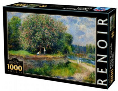 1000 pieces   Adult jigsaw puzzle   Soul Puzzles   South Africa   Cardboard   Imported from Europe   Renoir__Chestnut
