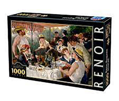 1000 pieces   Adult jigsaw puzzle   Soul Puzzles   South Africa   Cardboard   Imported from Europe   luncheon renoir   66909RE09